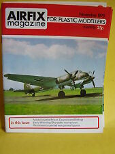 AIRFIX MODEL MAGAZINE NOVEMBER 1975 PRIEST DEACON BISHOP SKYRAIDER