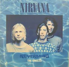 """NIRVANA """"NEVERMIND THE SINGLES"""" box 4 ep 10"""" limit.numbered edit.sealed"""