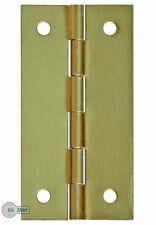 20 Möbelband Schatullen - Scharniere Minischarniere 30 x16 mm Gold