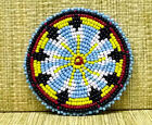 Beaded Rosette bead beadwork craft Non Native Rendezvous 2 Sizes Many Styles