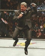 Bruce Buffer 8x10 Photo Picture UFC Ring Octagon Announcer 180 360 It's Time MMA