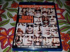 WWE Blu-Ray Royal Rumble 2011 DVD Combo Pack CM Punk Edge WWF WCW NXT Cena John