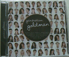 GENERATION GOLDMAN VOL 1 (CD)  NEUF SCELLE
