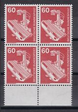 BRD 1978 postfrisch Industrie und Technik 4er Block unter Rand MiNr.  990