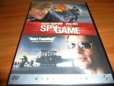 Spy Game (DVD, 2002, Widescreen) Robert Redford