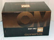 OLYMPUS OM-2N CHROME CAMERA BODY BOXED