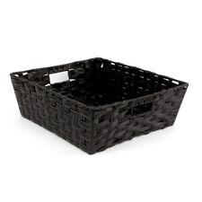Kaia Storage Basket Black