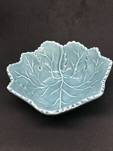 Olfaire Blue Cabbage Leaf Bowl Made in Portugal