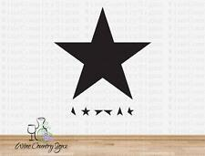 David Bowie Blackstar Ziggy Stardust Album Man Sold Wall Window Decal Sticker