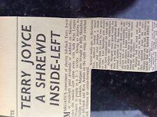 A2k ephemera 1957 article margate f c reserves v herne bay purves dunmall
