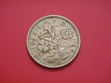 Great Britain 6 Pence, 1963