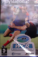 """JEU PS2 """"World Championship"""" (Rugby WCR) Acclaim NEUF SOUS BLISTER"""