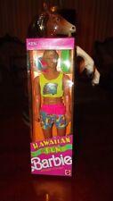barbie rare KEN DOLL ~ HAWAIIAN FUN KEN 1990 never removed from box