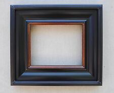 Custom Handmade Black Gold Angled Panel Ribbed Frame Any Size Up To 30X40