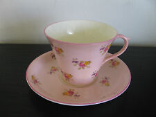 Shelley Pink China Hulmes Rose Cup & Saucer #13251