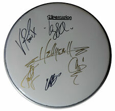SIGNED HELLYEAH AUTOGRAPHED DRUMHEAD PANTERA MUDVAYNE W/PICS