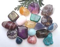 20 PCS Rare & Special CRYSTAL TUMBLESTONES Healing Reiki Gemstones 10-20MM