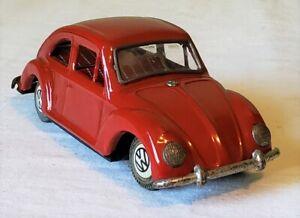 Early Masudaya Toys Japan Friction VOLKSWAGEN 1200 COUPE CAR 50's V RARE MINT