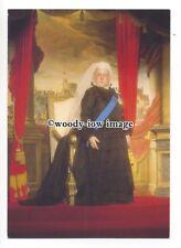 pq0155 - Queen Victoria at Madame Tussauds Waxworks , London - postcard