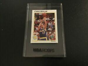 Chris Mullin 1991-92 NBA Hoops Encased Lucite 1 Inch Factory Promo Card Rare!