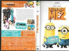 Despicable ME 2 DVD + Minions Boys Dogtag Necklace Boxed  Both VG Preowned