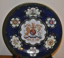 """2005 Commemorative Tin Plate Rockingham Royal Collection """"The William Iv Plate"""""""
