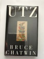 UTZ by Bruce Chatwin - First Edition Hardback 1988