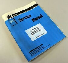 INTERNATIONAL 275 375 4000 WINDROWER SWATHER ENGINE SERVICE MANUAL REPAIR SHOP