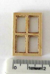 bloxxs F-061 Spur1 1:32 Holz Fenster Modellbau Gebäude Haus Modelleisenbahn