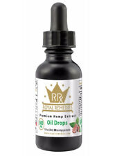 Royal Remedies Full Spectrum Organic Oil Tincture Pain Relief 250mg Peppermint