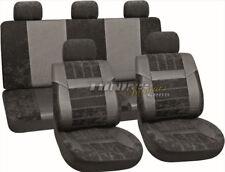 PREMIUM Kunstleder Sitzbezug Auto Bezug Sitz Schwarz SET für viele Fahrzeuge