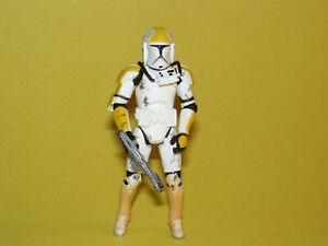 Star Wars ROTS Evolutions AOTC Yellow Clone Pilot Loose