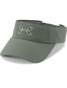 Under Armour Men's Heat Gear Fish Hook Logo Thermocline Visor Hat  One Size