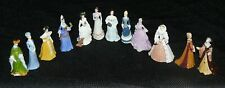Complete Set of 12 Franklin Mint Ladies of Fashion Miniature Figurines