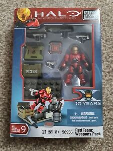 Halo The Authentic Collector's Series Red Teams Weapon Pack Mega Bloks