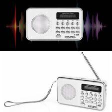 T-205 Mini Digital Audio FM Radio Speaker USB Micro SD TF Card MP3 Music Player