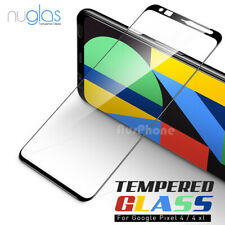 For Google Pixel 4 3 XL 2 XL NUGLAS Full Screen Protector Curved Tempered Glass