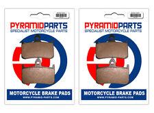 Honda NTV 650 Bros 88-97 Front Brake Pads (2 Pairs)