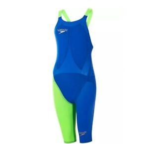 Speedo Damen LZR Racer Elite 2 Solider Badeanzug mit festem Knie