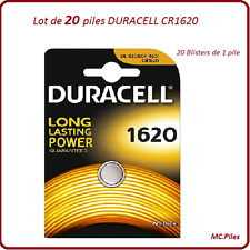 Set di 20 batterie a bottone CR1620 litio Duracell