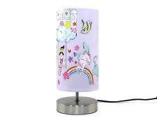 Unicorn Lamp Light lampshade Bedside Desk Table Nursery Bedroom Horse Pony Gifts