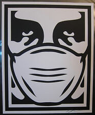 Protect Yourself ObeyGiant 08 Baxter Orr Shepard Fairey Parody Signed Print Rare