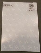 Cricut Cuttlebug Anna Griffin Embossing Folder Cherries Jubilee