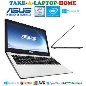 "ASUS White X-Series Laptop Windows10 15.6"" HD Screen 500Gb Core i3 Gaming GFX"