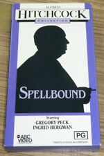 VHS Movie - Alfred Hitchcock Collection: Spellbound
