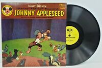 Johnny Appleseed Buddy Ebsen Disney Mickey Mouse Club 78rpm Vinyl 1956 DBR-60 VG