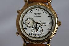 Seiko Age of Discovery 6M23 - 8000 Quartz Intelligent Calendar Men's Watch