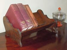 Schöner kleiner Bücherständer CD Ständer Eiche  massiv England ca. 1920