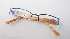 Wagner&Kühner Brille Halbrand Fassung glasses breiter Designbügel flippig size S