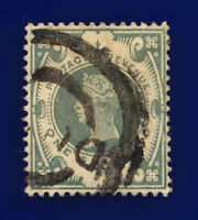 1887 SG211 1s Grey Green K40(2) Good Used Cat £100 cnzk